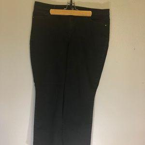 Gloria Vanderbilt 16 Short Amanda Black Jeans